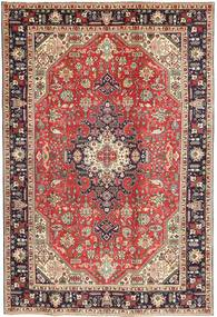Tabriz Patina Vloerkleed 200X298 Echt Oosters Handgeknoopt Bruin/Donkerbruin (Wol, Perzië/Iran)