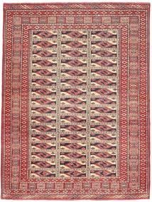 Turkaman Patina Vloerkleed 131X177 Echt Oosters Handgeknoopt Donkerrood/Bruin (Wol, Perzië/Iran)