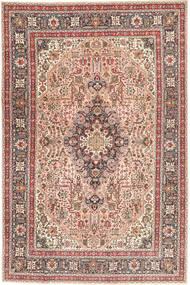 Tabriz Patina Vloerkleed 198X294 Echt Oosters Handgeknoopt Bruin/Lichtbruin (Wol, Perzië/Iran)