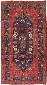 Koliai Vloerkleed 161X296 Echt Oosters Handgeknoopt Tapijtloper Donkerrood/Donkergrijs (Wol, Perzië/Iran)