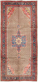 Koliai Vloerkleed 158X335 Echt Oosters Handgeknoopt Tapijtloper Donkerrood/Lichtbruin (Wol, Perzië/Iran)