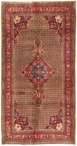 Koliai Vloerkleed 158X308 Echt Oosters Handgeknoopt Tapijtloper Donkerbruin/Donkerrood (Wol, Perzië/Iran)