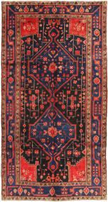 Koliai Vloerkleed 156X293 Echt Oosters Handgeknoopt Tapijtloper Donkerrood/Donkergrijs (Wol, Perzië/Iran)