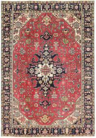 Tabriz Patina Vloerkleed 193X280 Echt Oosters Handgeknoopt Donkerrood/Donkergrijs (Wol, Perzië/Iran)