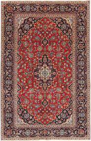 Keshan Patina Vloerkleed 193X298 Echt Oosters Handgeknoopt Donkerrood/Donkerbruin (Wol, Perzië/Iran)
