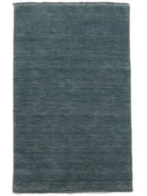 Handloom Fringes - Petrolblauw Vloerkleed 160X230 Modern Blauw (Wol, India)