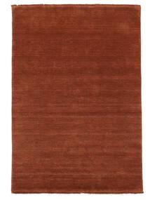 Handloom Fringes - Roest Vloerkleed 160X230 Modern Roestkleur/Donkerrood (Wol, India)