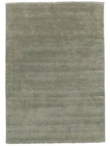 Handloom Fringes - Soft Teal Vloerkleed 160X230 Modern Lichtgroen (Wol, India)