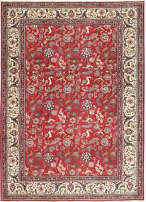 Tabriz Patina Vloerkleed 248X344 Echt Oosters Handgeknoopt Donkerrood/Beige (Wol, Perzië/Iran)