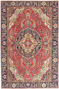 Tabriz Patina Vloerkleed 190X290 Echt Oosters Handgeknoopt Bruin/Beige (Wol, Perzië/Iran)
