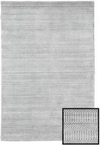Bamboe Grass - Grijs Vloerkleed 120X180 Modern Lichtgrijs/Beige (Wol/Bamboezijde, Turkije)