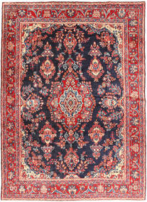 Hamadan Shahrbaf Vloerkleed 215X292 Echt Oosters Handgeknoopt Roestkleur/Donkergrijs (Wol, Perzië/Iran)