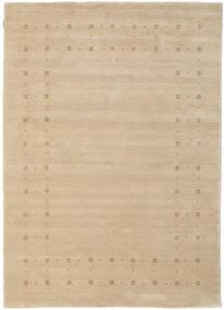 Loribaf Loom Delta - Beige Vloerkleed 160X230 Modern Geel/Donkerbeige (Wol, India)