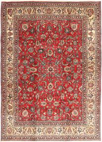 Hamadan Shahrbaf Vloerkleed 235X327 Echt Oosters Handgeknoopt Donkerrood/Roestkleur (Wol, Perzië/Iran)