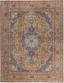 Keshan Patina Vloerkleed 292X385 Echt Oosters Handgeknoopt Donkerbruin/Donkerrood Groot (Wol, Perzië/Iran)
