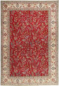 Tabriz Patina Vloerkleed 243X343 Echt Oosters Handgeknoopt Donkerrood/Donkerbruin (Wol, Perzië/Iran)