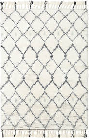 Sauda - Natural Grijs Vloerkleed 120X180 Echt Modern Handgeknoopt Beige/Wit/Creme (Wol, India)