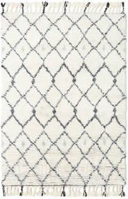 Sauda - Natural Grijs Vloerkleed 160X230 Echt Modern Handgeknoopt Beige/Wit/Creme (Wol, India)