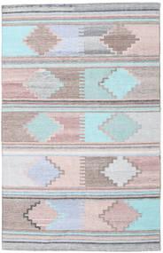 Pet Yarn Kelim Vloerkleed 160X230 Echt Modern Handgeweven ( India)