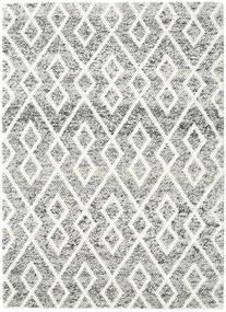 Hudson - Melange Zwart Vloerkleed 170X240 Modern Lichtgrijs/Beige (Wol, India)