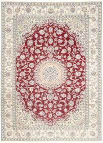 Nain 9La Vloerkleed 249X350 Echt Oosters Handgeknoopt (Wol/Zijde, Perzië/Iran)