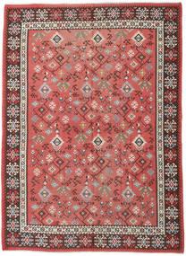 Kelim Russisch Vloerkleed 230X312 Echt Oosters Handgeweven Roestkleur/Donkerrood (Wol, Azerbeidzjan/Rusland)