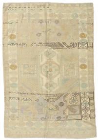 Taspinar Vloerkleed 148X217 Echt Oosters Handgeknoopt Donkerbeige/Olijfgroen (Wol, Turkije)