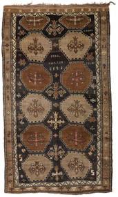 Herki Vintage Vloerkleed 200X335 Echt Oosters Handgeknoopt Bruin/Donkerbruin/Zwart (Wol, Turkije)