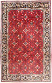Najafabad Vloerkleed 197X307 Echt Oosters Handgeknoopt Roestkleur/Donkerbruin (Wol, Perzië/Iran)
