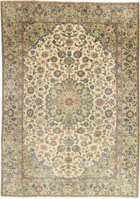 Najafabad Patina Vloerkleed 187X265 Echt Oosters Handgeknoopt Lichtbruin/Lichtgrijs (Wol, Perzië/Iran)