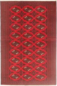 Turkaman Patina Vloerkleed 126X190 Echt Oosters Handgeknoopt Donkerrood/Rood (Wol, Perzië/Iran)