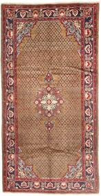 Koliai Vloerkleed 160X307 Echt Oosters Handgeknoopt Tapijtloper Donkerrood/Bruin (Wol, Perzië/Iran)