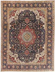 Tabriz Patina Vloerkleed 250X325 Echt Oosters Handgeknoopt Lichtbruin/Zwart Groot (Wol, Perzië/Iran)