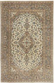 Keshan Patina Vloerkleed 192X298 Echt Oosters Handgeknoopt Lichtgrijs/Lichtbruin (Wol, Perzië/Iran)