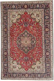 Tabriz Patina Vloerkleed 200X305 Echt Oosters Handgeknoopt Donkerrood/Donkerbruin (Wol, Perzië/Iran)