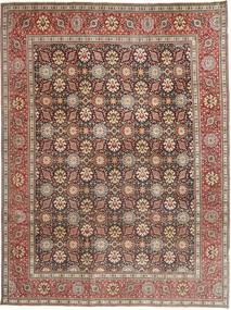 Tabriz Patina Vloerkleed 250X338 Echt Oosters Handgeknoopt Donkerrood/Donkerbruin Groot (Wol, Perzië/Iran)