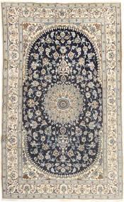Nain Vloerkleed 185X310 Echt Oosters Handgeknoopt Lichtgrijs/Donkergrijs (Wol, Perzië/Iran)