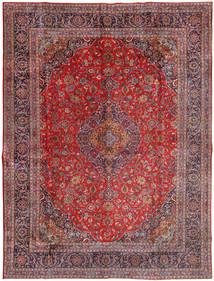 Mashad Vloerkleed 300X400 Echt Oosters Handgeknoopt Donkerrood/Licht Paars Groot (Wol, Perzië/Iran)
