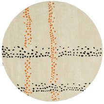 Delight Handtufted - Secundair Vloerkleed Ø 150 Modern Rond (Wol, India)