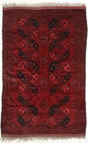 Afghan Khal Mohammadi Vloerkleed 149X225 Echt Oosters Handgeknoopt Donkerrood (Wol, Afghanistan)