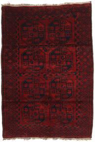 Afghan Khal Mohammadi Vloerkleed 120X173 Echt Oosters Handgeknoopt Donkerrood (Wol, Afghanistan)