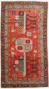 Samarkand Vintage Vloerkleed 152X294 Echt Oosters Handgeknoopt Donkerbruin/Roestkleur (Wol, China)