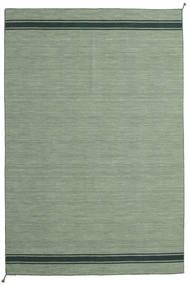 Ernst - Groen/Donker _Green Vloerkleed 250X350 Echt Modern Handgeweven Olijfgroen/Lichtgroen/Pastel Groen Groot (Wol, India)