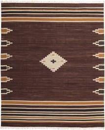 Tribal - Bruin Vloerkleed 250X300 Echt Modern Handgeweven Donkerbruin Groot (Wol, India)
