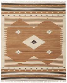 Tribal - Mosterd Geel Vloerkleed 250X300 Echt Modern Handgeweven Bruin/Beige Groot (Wol, India)