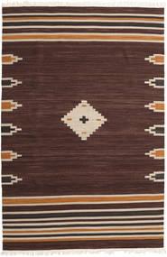 Tribal - Bruin Vloerkleed 200X300 Echt Modern Handgeweven Donkerbruin (Wol, India)