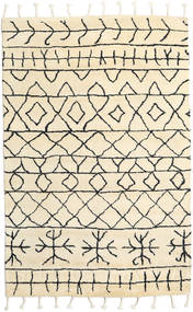 Moss Berber - Natural Vloerkleed 180X275 Echt Modern Handgeknoopt Beige (Wol, India)