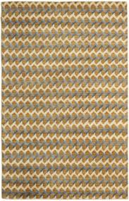 Sandnes Vloerkleed 150X240 Echt Modern Handgeknoopt Lichtbruin/Beige (Wol, India)
