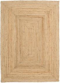Buitenvloerkleed Frida - Natural Vloerkleed 160X230 Echt Modern Handgeweven Donkerbeige/Beige (Jute Vloerkleed India)