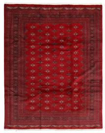 Pakistan Bokhara 3Ply Vloerkleed 241X306 Echt Oosters Handgeknoopt Donkerrood/Rood (Wol, Pakistan)